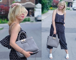 Liat Neuman - Club Monaco Jumpsuit, Marc By Jacobs Bag - It's a new day