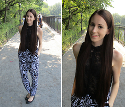 Jimena Palermo - H&M Top, New Yorker Pants, H&M Ballerinas - Central Park