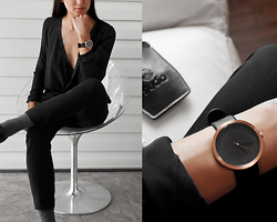 Kristina - Simpl Timepiece, Jaggar Blouse, Sammy Icon Socks - A moment in time