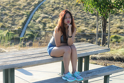 Mylz Romero - Adidas Energy Boost, Forever 21 High Waist Shorts, Forever 21 Body Suit - Stress Free