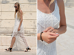 Martyna H - Tk Maxx The White Dress - The white maxi