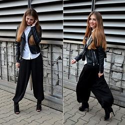 Sylwia Gocajna - New Yorker Pants, Rag & Bone Shirt, Cubus Jacket, Zara Shoes - Simple Things