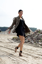 Eva -  - Dolce and Gabbana olive jacket