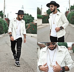 Khalil Alaoui - Hat By, Jacket, Tshirt, Pant, Sneaker - You Dream ,We Make It Real !