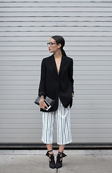 Alex Closet - Theory Jacket, River Island Pantalon, Schutz Shoes - NYFW #2