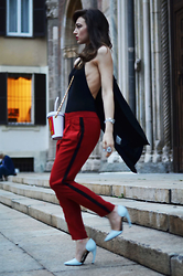 Melissa Cabrini - Moschino Bag, Proenza Schouler Shoes - Running girl