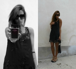Marika - Narciso Rodriguez Parfumes, Topshop Dress, Valentino Shoes, Marc By Jacobs Sunglasses - L'absolu