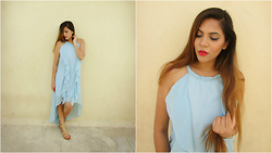 Pooja Mittal - Cndirect Frilly Maxi Dress, Ardell Demi Luvies - Fashion Obsession-Frilly Maxi Dess