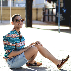 Andrés Barreto - H&M Shirt, Levi's® Shorts, Zara Boat Shoes - MISSED OUTFIT.