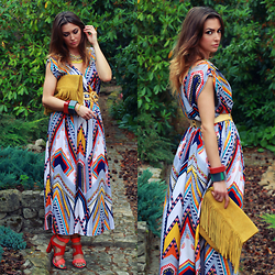 Yoschimoto -  - AZTEC DRESS