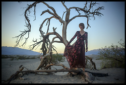NATALIA MICHAŁOWICZ - Abercrombie & Fitch Dress - SANDS OF THE DEATH VALLEY