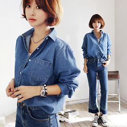 Imvely Imjihyun -  - Denim look