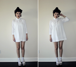 Kat Tea. - Topshop Shirt Dress - Unconventional