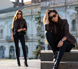 Ramona Crisstea - Jord Watch, Zara Boots - Warrior