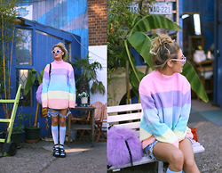 Lucy Rance - Unif Rainbow Jumper - RAINBOW DREAMS