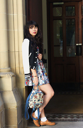 Lauren Evans - River Island Jacket, China Dress, China Bag, Shoe Embassy Shoes, Primark Socks - You Belong With Me.