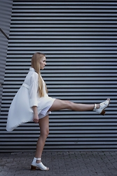 Ewa Michalik - Magda Hasiak Shirt, Nike Shorts, Asos Shoes - Dream and go!