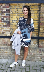 Julia - Topshop Jacket, Adidas Shoes, Asos X Textile Federation Dress - TEXTILE FEDERATION