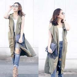 Nerza O - Lovelywholesale Long Vest - I'm nicer when I like my outfit