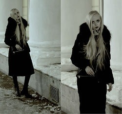 Eliza Modex - Jacket - Black queen
