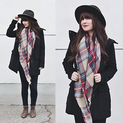 Jocelyn Jacobson - Gentle Fawn Erin Coat, Brixton Messer Hat - Erin Coat