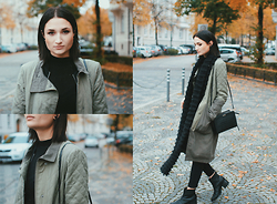 Angela Doe - Asos Parka, New Look Boots, Calvin Klein Bea Bag - Autumn vibes²
