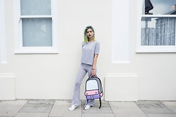 Sophie Hannah Richardson - Boohoo Co Ord, Jump From Paper - BOOHOO CASUAL CO-ORD