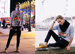 Tomasz Dąbrowski - Nike Air Max, Criminal Damage, Mr. Gugu & Miss Go - London look !