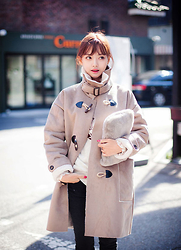 Wholesale7 - Wholesale7 Coat - So cold today~