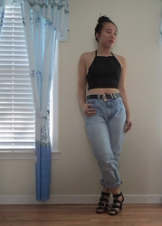 Juliet Ly - Dressin Crop Top - Crop Tops