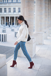 Alex Closet - Iro Sweater, Asos Boots - Pefect Knit