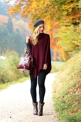 Meagan Brandon -  - Gray & Burgundy