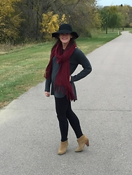 Ashley Eining - World Market Hat - Stroll in the park.