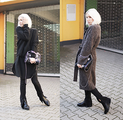Stryle TZ -  - BLACK LAYERING & COSY COAT