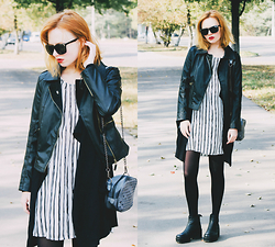 Kristina Magdalina - Cndirect Jacket, Dealsale Dress - Autumn.
