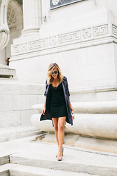 Ashley - Zara Lbd, Unknown Italian Mary Janes, Zoa Trench - NYC Nights