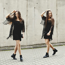 Emilka Ścibor - Lace Tassel Blouse, Shoes - Is it too late to say sorry?