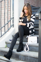 Dascha Boonstra -  - Black and white jeans