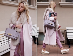 Victoria Platina - Zac Posen Bag, Fashion Confession Coat -  La Vie en Rose