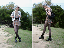 Léopoldine Cannibale - Love Too True Coord, H&M Boots, Claudie Pierlot Bag, Mango Jacket, Freyrs Sunglasses - No one can make you feel inferior without your consent
