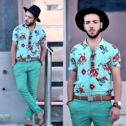 Faissal Yartaa - Wood & Sea Dapper - GREEN LOOK / WOOD & SEA