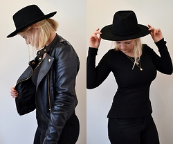 Toni - Urban Outfitters Hat, Bik Bok Sweater - Turning