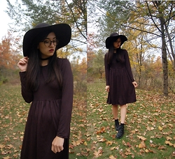 Sheila - Dressin Black Midi Dress - Witch Vibes Only