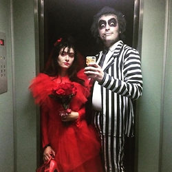 Andrea R. -  - Lydia Deetz and Beetlejuice ♥