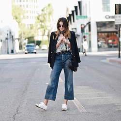 Brittany Xavier -  - Wide leg denim