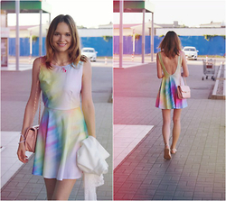 Marina Senina - Https://Vk.Com/Club48977128 Dress Rainbow, Https://Vk.Com/Club48977128 Pink Bag - Festive Mood