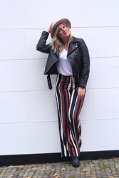 Yasmin Ooteman - Zara Jacket, Topshop Trouser, Omoda Shoes, River Island Hat, H&M Top - Bring out the flare
