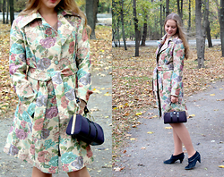 Margo Kruzz -  - Floral coat