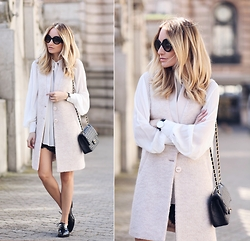 Silvia P. - Liu Jo Vest, Guess Blouse, Liu Jo Shorts, Pimkie Shoes, Chanel Purse, Zerouv Sunnies - Pastel world