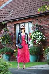 Virgit Canaz - Choies Red Dress, Chanel Boy Bag - A touch of subtle red